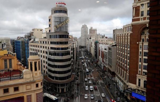 El emblemático Edificio Capitol que preside la Gran Vía a la altura de Callao fue declarado Bien de Interés Cultural (BIC) (Foto: EFE)