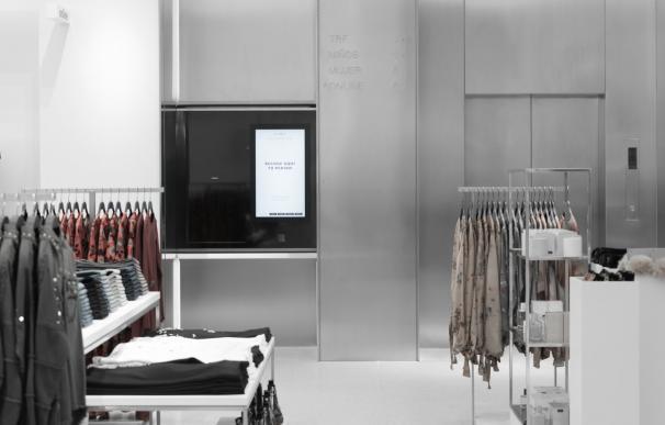 Imagen del robot de entrega de pedidos de Zara.