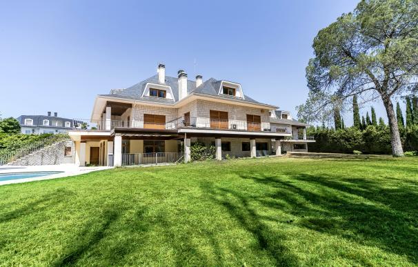 La mansión de los Ruiz Mateos sale a subasta por un millón de euros.