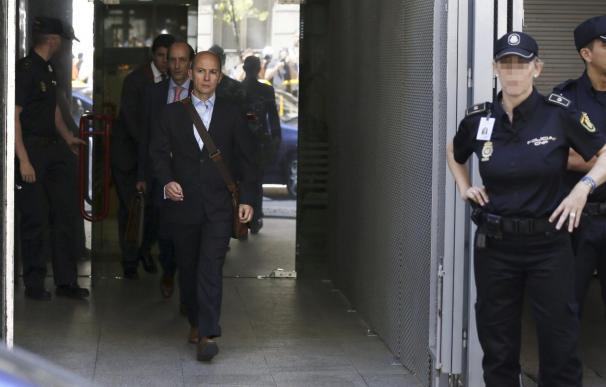 Jenaro García, expresidente de Gowex, tras declarar en la Audiencia Nacional.