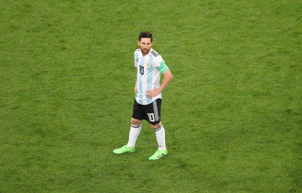 Messi ante Nigeria
