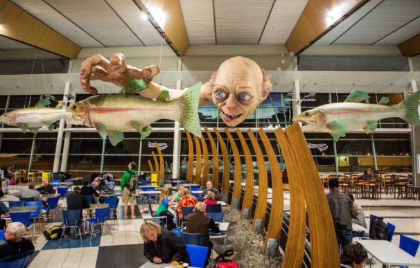 Una imagen del aeropuerto de Wellington