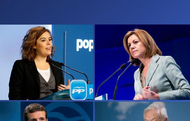 Fotografía candidatos PP para portada