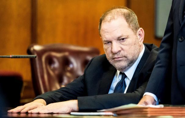 Weinstein durante el juicio