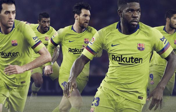 Segunda equipación del Barcelona