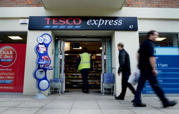 Imagen de una tienda de Tesco