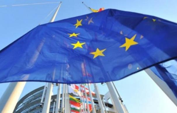Fotografía bandera Unión Europea