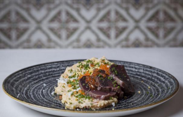 Uno de los platos que puedes degustar en el Zorzal.