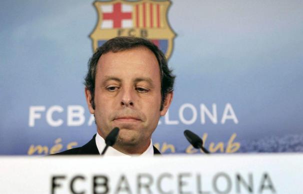 La etapa más complicada de Rosell al frente del Barcelona