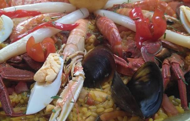 Un plato a degustar en la Aldea, en Comillas.