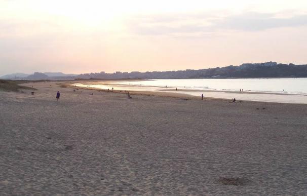 Playa de Somo, en Cantabria.