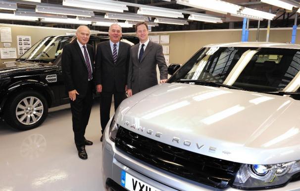 Jaguar Land Rover invierte 410 millones en una planta de motores en Reino Unido