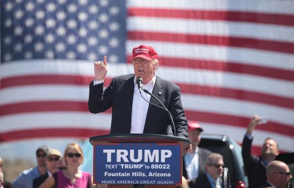 Trump durante un acto de la anterior campaña / Gage Skidmore