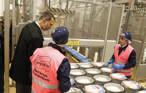 Imagen de la fábrica de Campofrío en Burgos