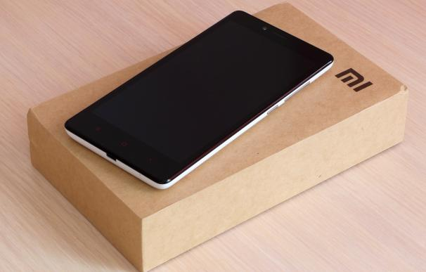 Fotografía de un Xiaomi Redmi Note.