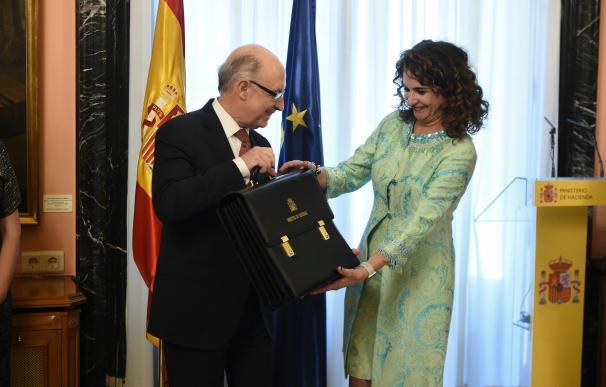 María Jesús Montero y Cristóbal Montoro