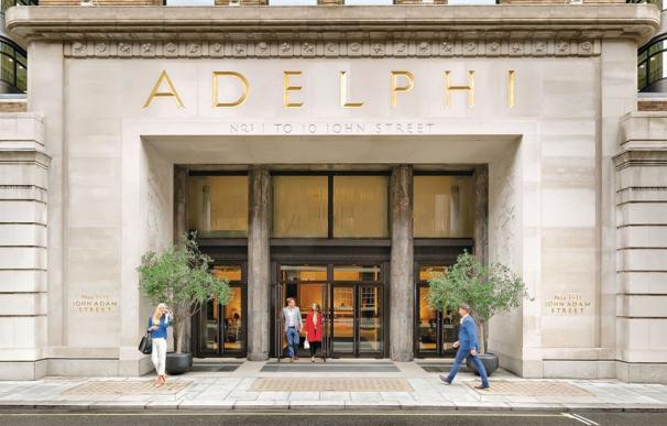 Imagen del edificio Adelphi en Londres.