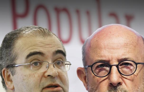 Saracho y Ron cara a cara en el Congreso: el testamento de sus actas en el Popular