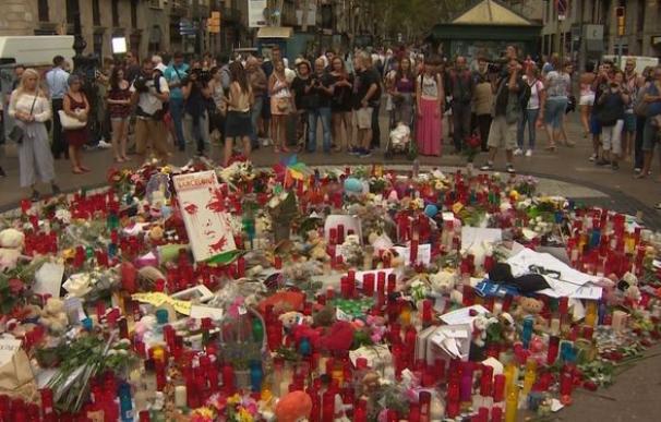 Imagen de las Ramblas tras los atentados de Barcelona