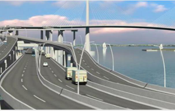 Imagen del proyecto de puente de Acciona