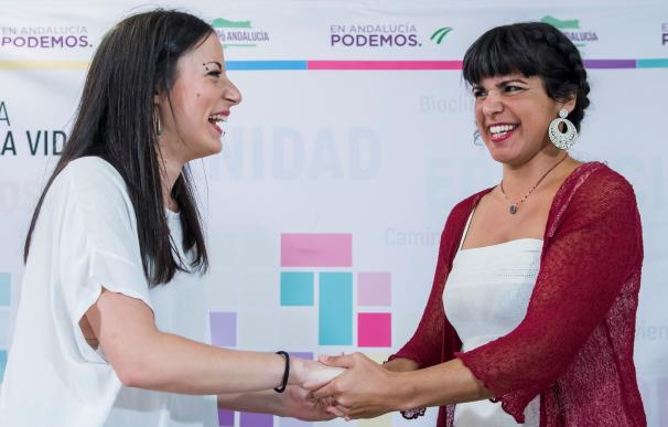 Teresa Rodríguez gana las primarias en Andalucía