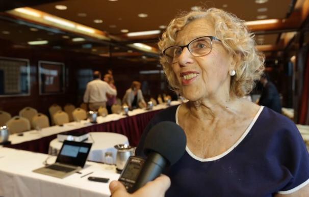 Carmena propone crear un Erasmus latinoamericano