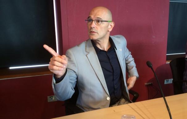 """Romeva cree que el Estado tiene """"todas las armas represivas"""" pero no cuenta con la gente"""