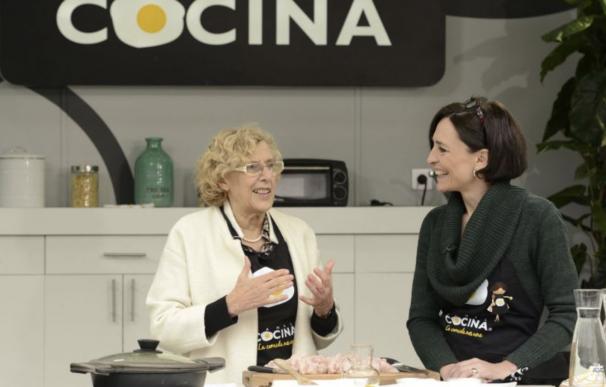 Manuela Carmena en Canal Cocina