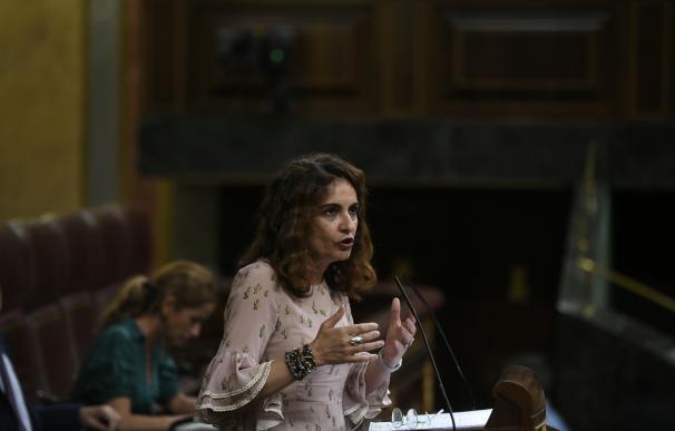 Pleno en el Congreso de los Diputados sobre los objetivos de déficit y el techo