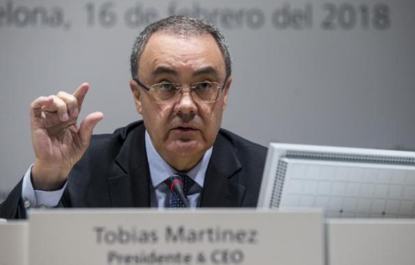 Tobías Martínez, CEO de Cellnex, uno de los beneficiarios del bonus.