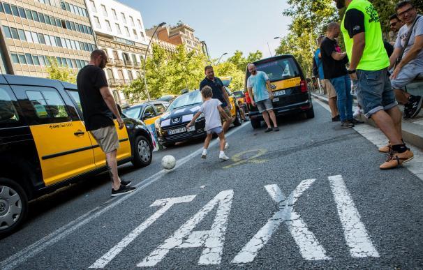Fotografía taxi Barcelona