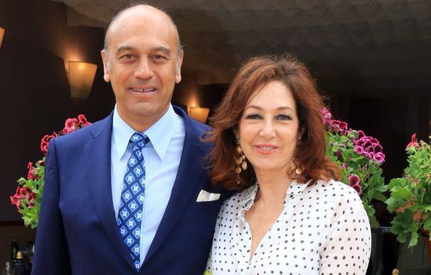 Ana Rosa y su marido, Juan Muñoz