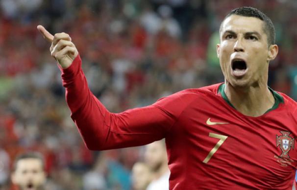 Fotografía Cristiano Ronaldo, con Portugal