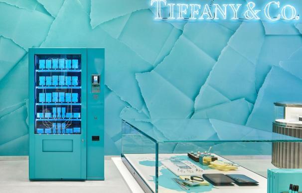 Máquina expendedora Tiffany