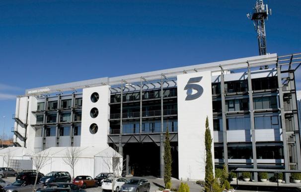 Imagen de la sede de Mediaset en Madrid.