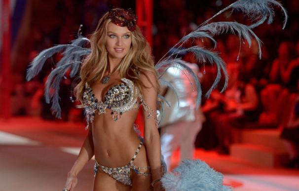 Imagen de un desfile de Victoria's Secret