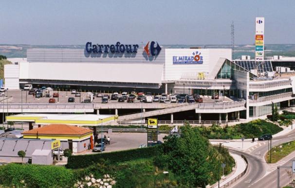 Imagen del exterior de un hipermercado de Carrefour