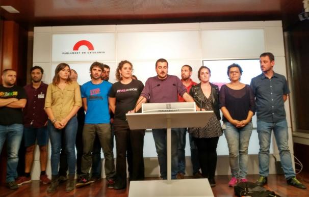La CUP propone un pleno monográfico que acabe con la proclamación de la república catalana