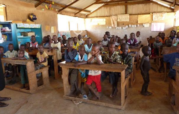 Una escuela en Kenia
