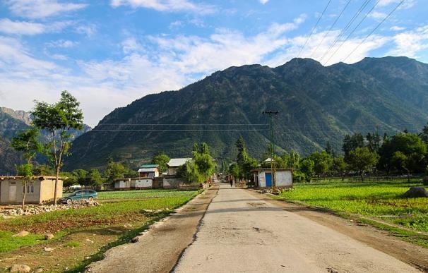 Fotografía de la provincia de Khyber Pakhtunkhwa en Pakistán.