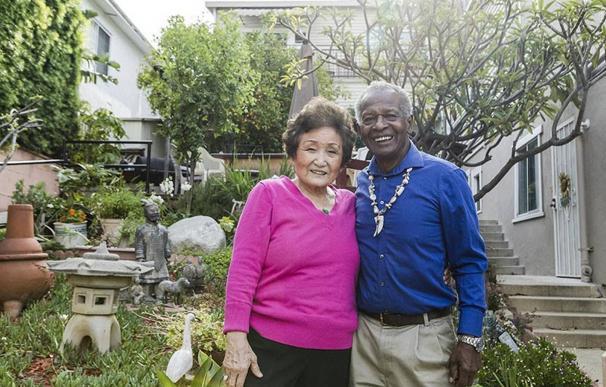 Fotografía de James e In Ja Yates, anfitriones de Airbnb.
