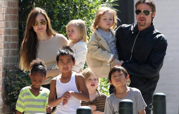 Familia Jolie Pitt