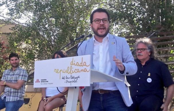 Pere Aragonès, ERC, vicepresidente de la Generalitat