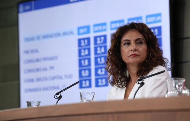 Fotografía Montero, ministra de Hacienda