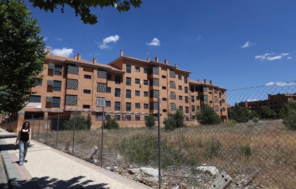 Imagen de Ciudad Valdeluz, en el municipio de Yebes, el que tiene mayor índice de desocupación de vivienda de toda España.