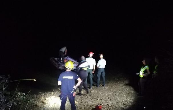 Rescate de cadáver en el embalse de Alarcón