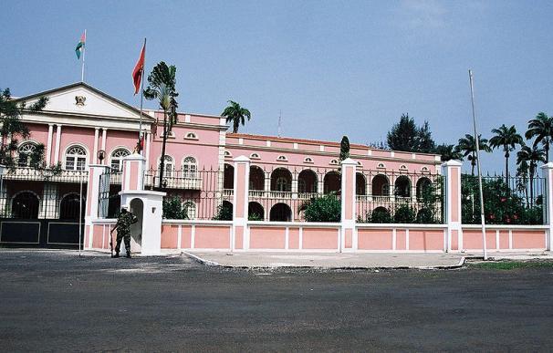 Imagen del Palacio Presidencial de Santo Tomé y Príncipe.