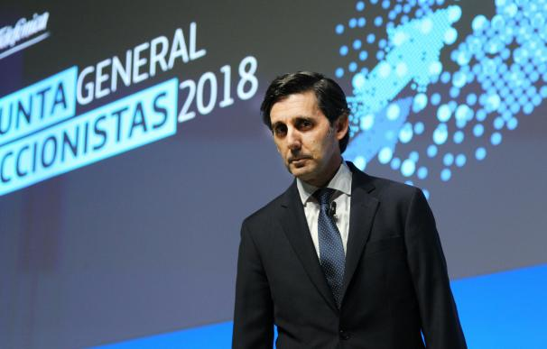 José María Álvarez-Pallete, presidente de Telefónica / José González