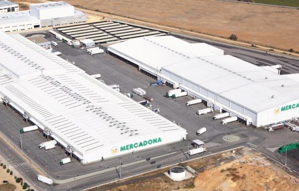Planta logística de Mercadona en Huévar del Aljarefe (Sevilla)