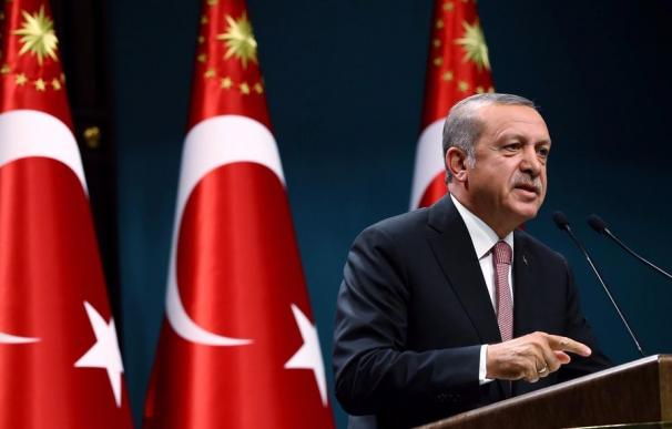 El presidente turco, Recep Tayyip Erdogan. EFE